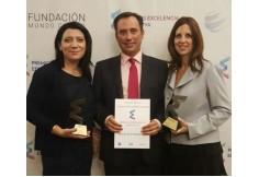 Recibiendo premios a la excelencia educativa 2017